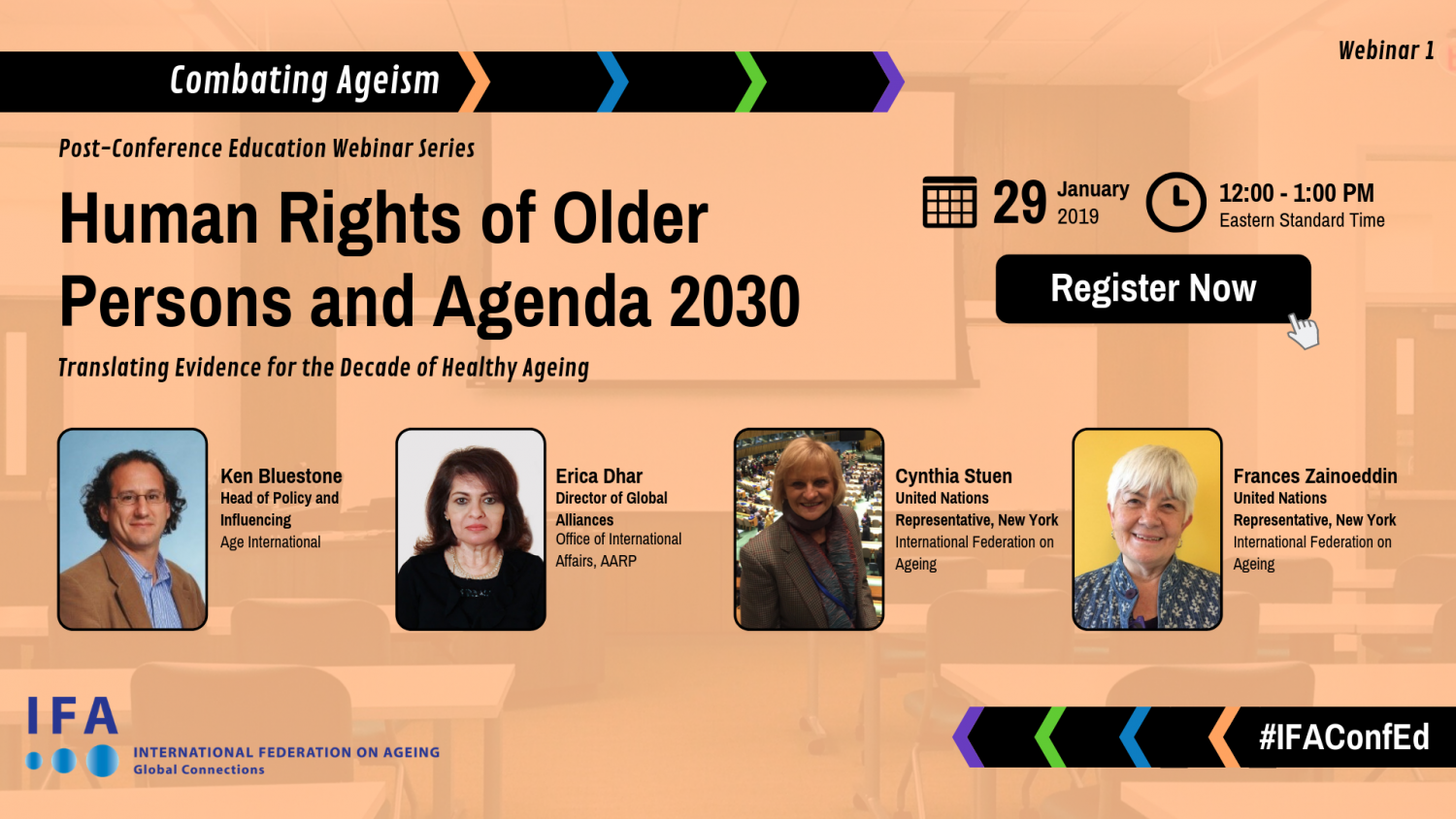 Webinar Announcement: Human Rights of Older Persons and Agenda 2030