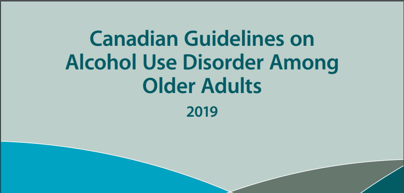 Release of First-Ever National Clinical Guidelines on Substance Use Disorders among Older Canadians