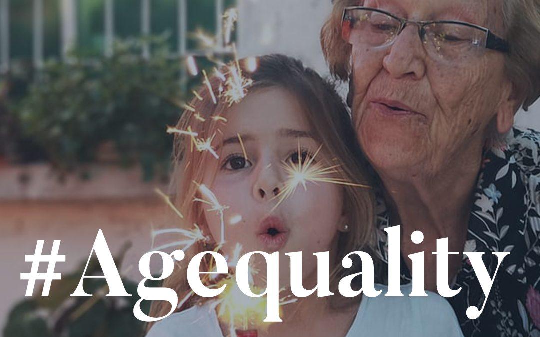 #Agequality