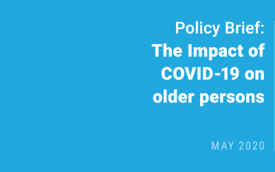 UN Policy Brief: The Impact of COVID-19 on older persons