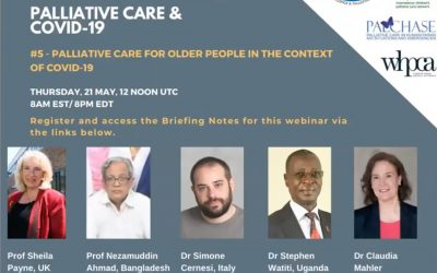Global Palliative Care Series webinar – Palliative Care for Older People in the Context of Covid-19