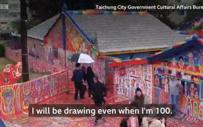 96-year-old saves village through art