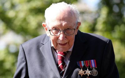 Captain Tom Moore 'overawed' by knighthood for NHS fundraising