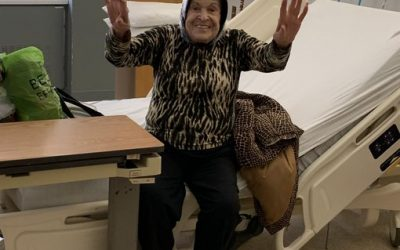 Health-care workers cheer out 95-year-old Toronto woman who beat COVID-19