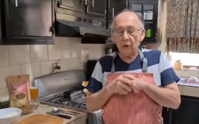 A 79-Year-Old Man Started A YouTube Cooking Channel After Losing His Grocery Store Job Due To Coronavirus