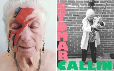 Care home residents recreate record covers