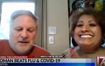 Woman in Texas beats flu and COVID-19
