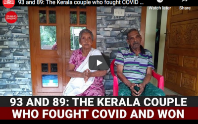 Couple, ages 93 and 87, recover from COVID-19