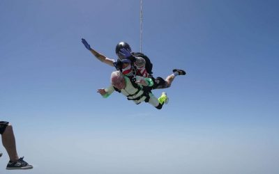 103-year-old man breaks Guinness record for world's oldest tandem skydive
