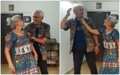 70-Plus Couple Dances To 'Ghagra', Heartwarming Video Goes Viral