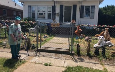 86-Year-Old Woman Spends Stimulus Check Building A Front Yard 'Zoo' To Make People Happy