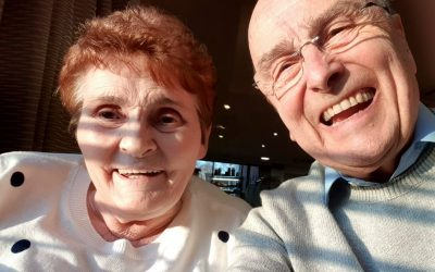 Warrington couple reunited for 50th wedding anniversary