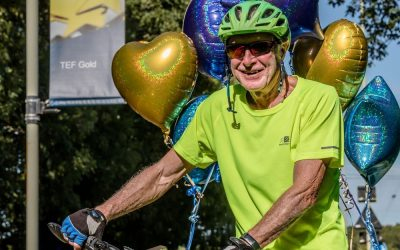 73-year-old Dover cyclist goes solo to ride 100 miles for charity