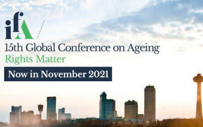 IFA 15th Global Conference on Ageing, Now in November 2021