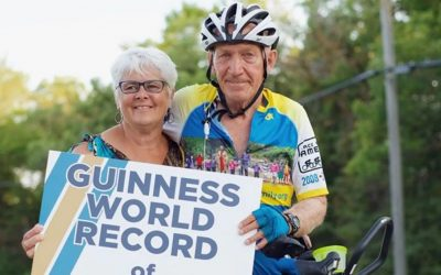 Winnipeg grandfather breaks 2nd cycling world record