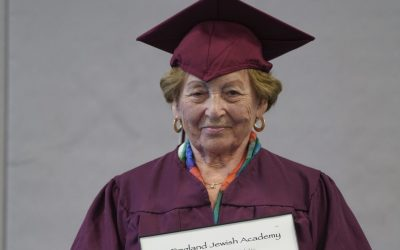Holocaust Survivor Miriam Schreiber Receives Honorary Diploma at New England Jewish Academy