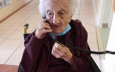 Cape Town woman turns 111, and surprised with physically-distanced tea party in care home