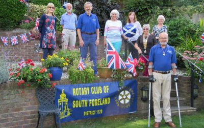 Dover Rotarian scales Ben Nevis without leaving his garden