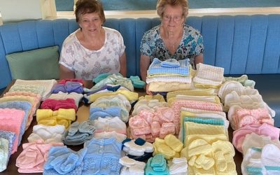 Stoke-on-Trent retirement community residents knit for national cause