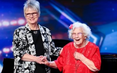 Britain's Got Talent judges amazed by 96-year-old's powerful performance