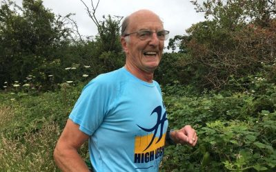 Veteran runner takes on the Virtual London Marathon for East Cheshire Hospice