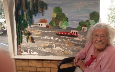 Ware care home residents celebrate Art in the Care Home Day
