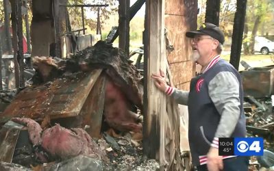 70-Year-Old Veteran Battling Cancer Hailed as an 'Angel' After He Charged into Burning Home to Save Neighbors