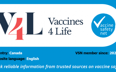 Vaccines4Life joins World Health Organization's Vaccine Safety Net