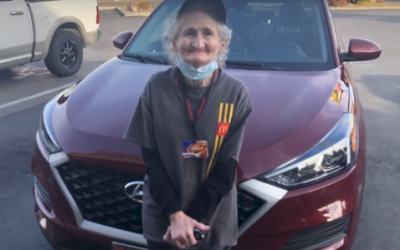 Watch This Grandmother Working at McDonald's Get Unforgettable Surprise From a Secret Santa