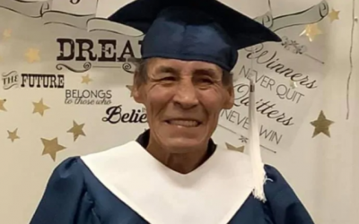 Residential school survivor graduates from high school at 61, says it's never too late for education