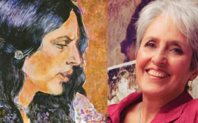 Joan Baez Turns 80 And Shows Off Her Masterful Paintings in Second Solo Art Exhibit
